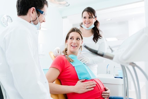 Pregnant Dental Patient